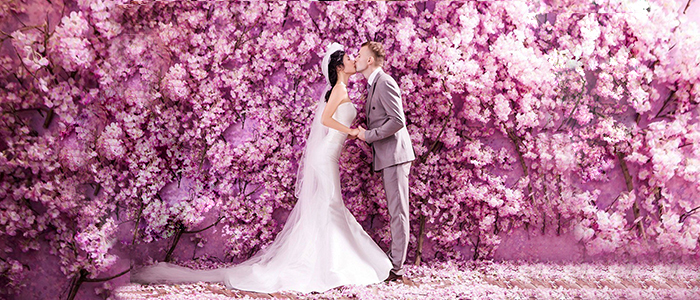 Wedding Flower Walls A magical background to your fairy tale.